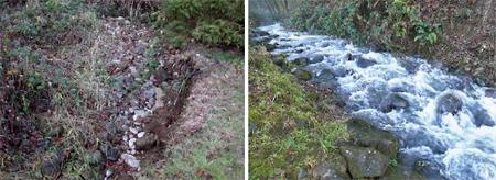 Manly Creek Channel After Rebuilding