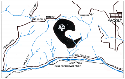 Yacolt Mt Rock Quarry Map